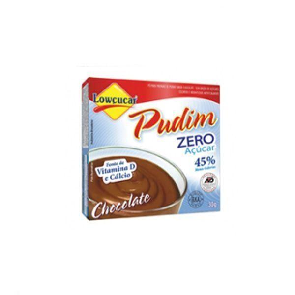 Pudim Chocolate Zero Açúcares Lowcucar 30g