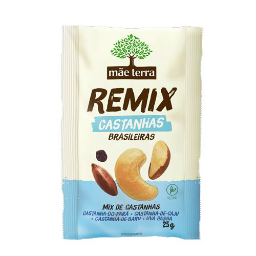 Remix Mãe Terra Castanhas Brasileiras Unidade