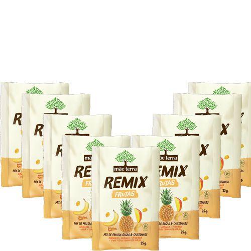 Remix Mãe Terra Frutas Contendo 9 Unidades