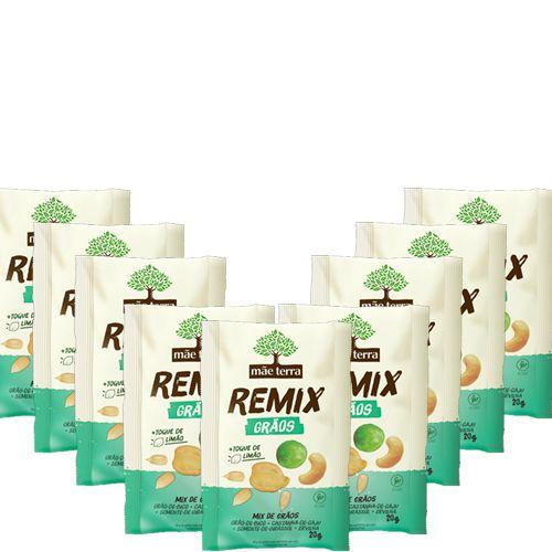 Remix Mãe Terra Grãos Contendo 9 Unidades