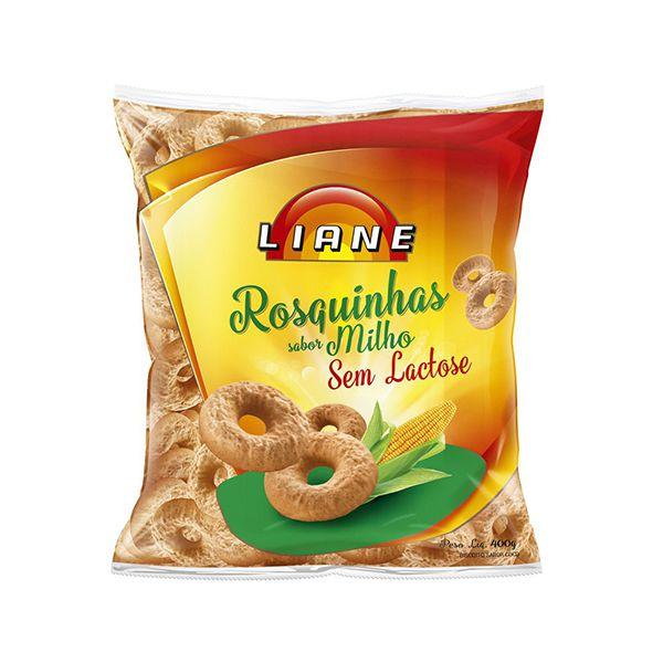 Rosquinhas De Milho Sem Lactose Liane 400g