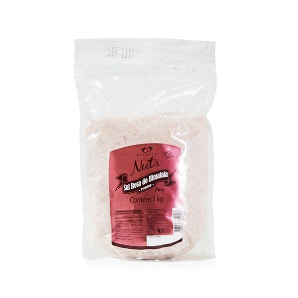Sal Rosa Do Himalaia Fino Empório Nuts 1kg