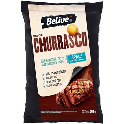 Salgadinho Belive Churrasco 35g