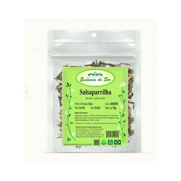 Salsaparrilha (smilax Officinalis) Raiz Qualy Ervas50g