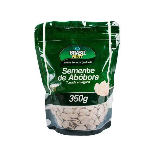 Semente De Abóbora Com Casca, Torrada e Salgada Brasil Frutt 350g
