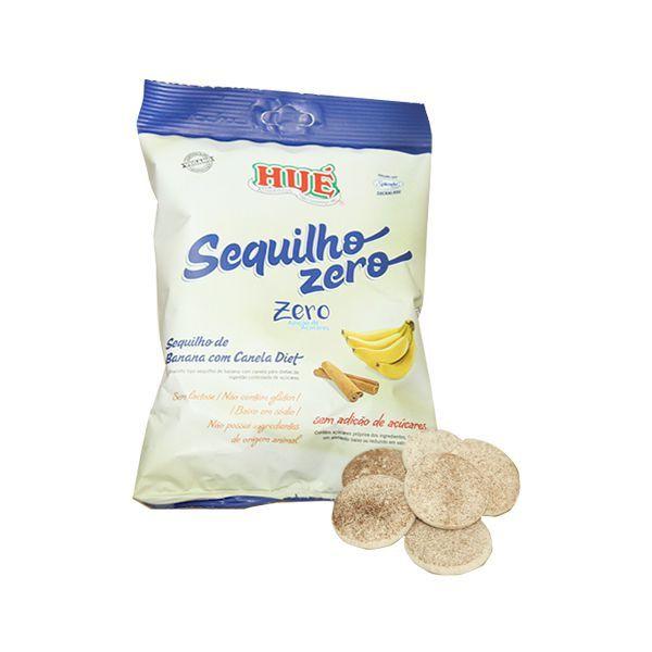 Sequilho Zero Açúcar, Zero Glúten, Zero Lactose Hué Banana Com Canela 120g