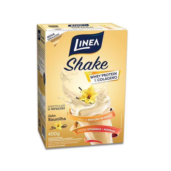 Shake de Baunilha Zero Açúcar Linea 400g