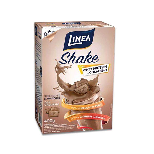 Shake de Chocolate Zero Açúcar Linea 400g