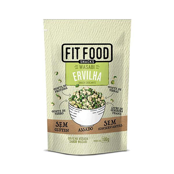 Snack Ervilha Wasabi Fitfood 100g