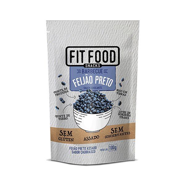 Snack Feijão Preto Com Barbecue Fitfood 100g