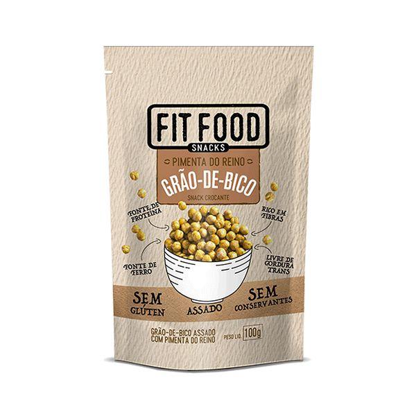 Snack Grão De Bico Com Pimenta Do Reino Fitfood 100g