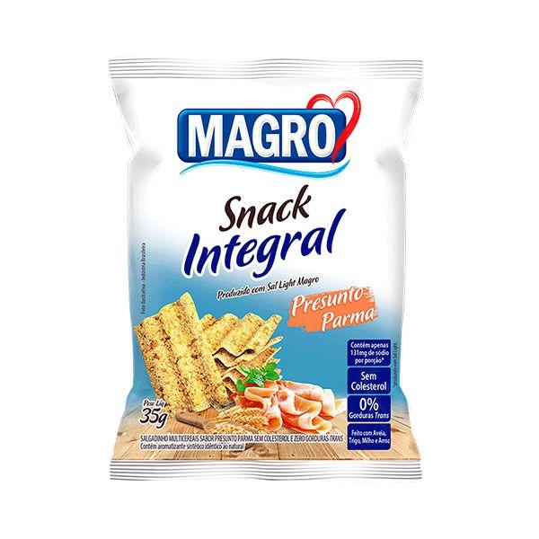 Snack Integral Presunto Parma Magro 35g