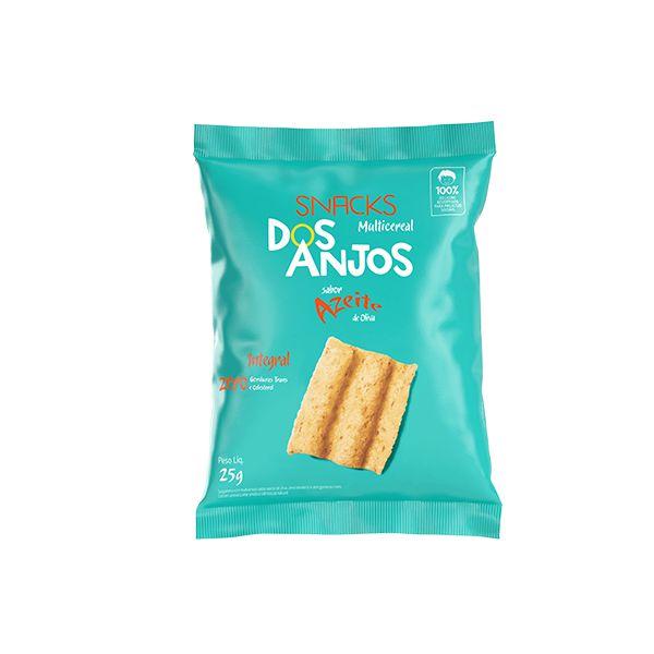 Snack Multicereal Dos Anjos Sabor Azeite De Oliva 25g