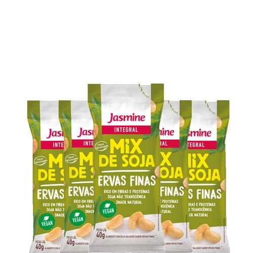 Soja Soytoast Ervas Finas Jasmine 40g Soja contendo 5 unidades