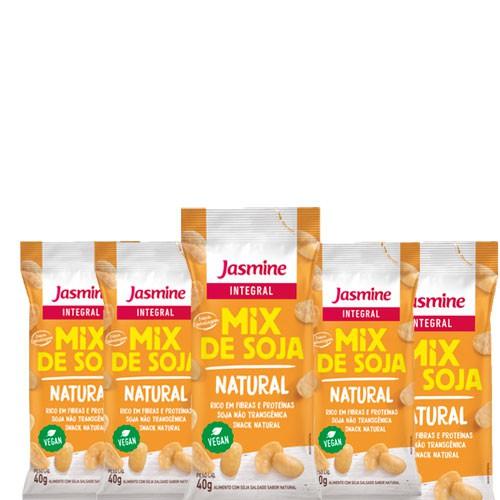 Soja Soytoast Natural Jasmine 40g contendo 5 unidades