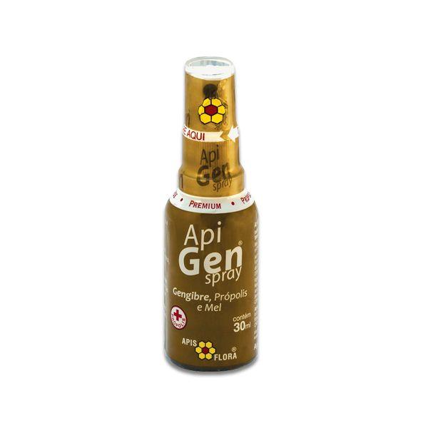 Extrato de Própolis Spray com Gengibre e Mel Apis Flora 30ml