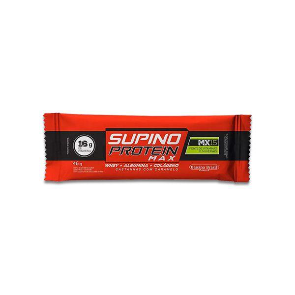 Supino Protein Amendoim e Caramelo 1un de 30g