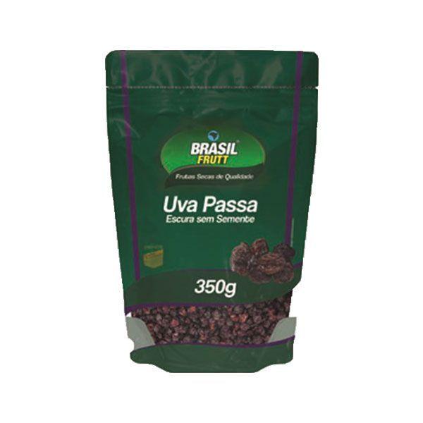 Uva Passa Escura Sem Semente Brasil Frutt 350g