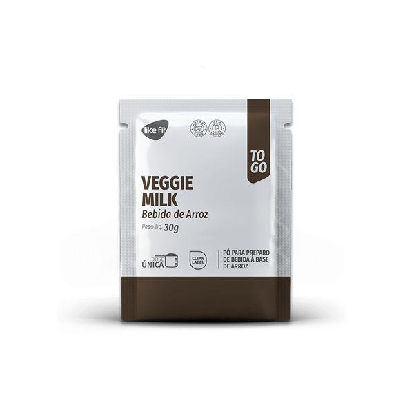 Veggie Milk Bebida de Arroz em pó Like Fit 30g