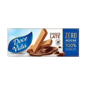 Wafer Diet Chocolate Doce Vida 115g