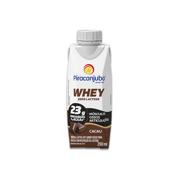 Whey de Cacau Piracanjuba 250ml