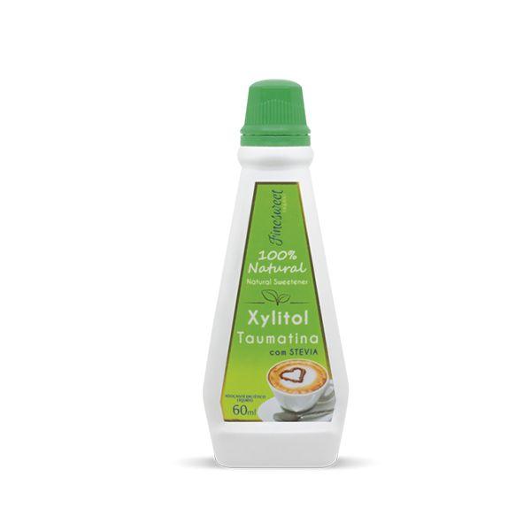 Xylitol Taumatina Com Finesweet Stévia Airon 60ml