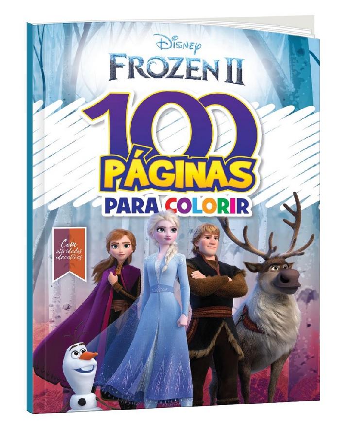 100 Páginas para Colorir - Frozen 2 Disney