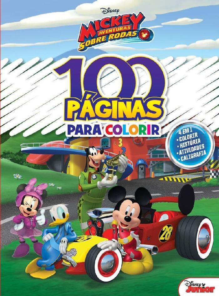 100 Páginas para Colorir - Mickey Disney