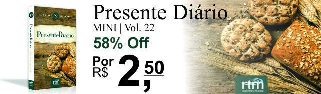 Livro Presente Diário | Livraria Evangélica Emmerick