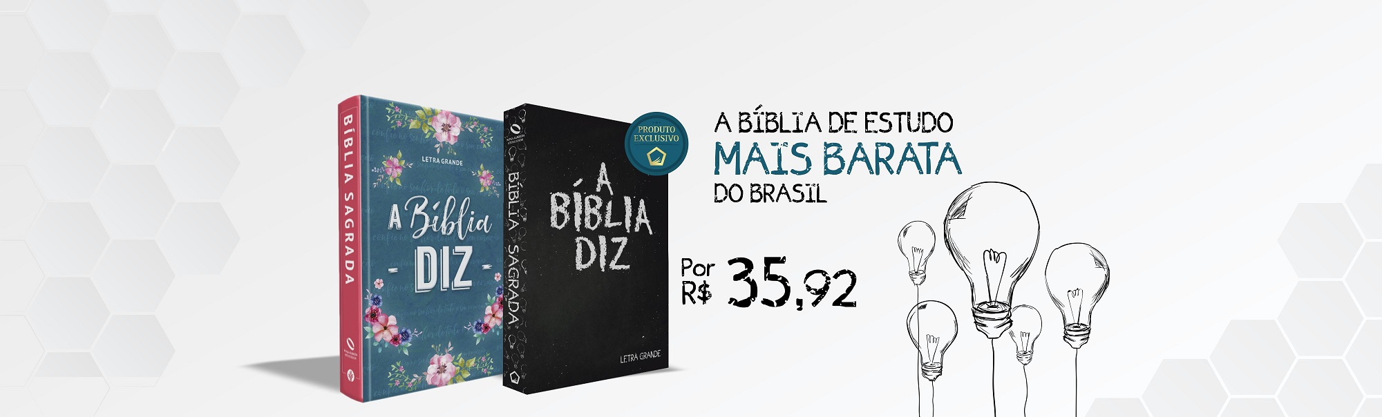 A Bíblia Diz - Bíblia de Estudo Barata | Livraria Evangélica Emmerick