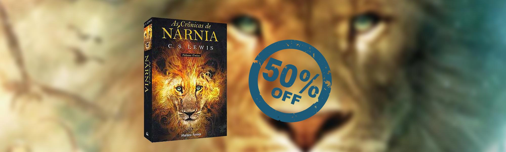 Promoção no Livro Cronicas de Nárnia de C S Lewis | Livraria Evangélica Emmerick
