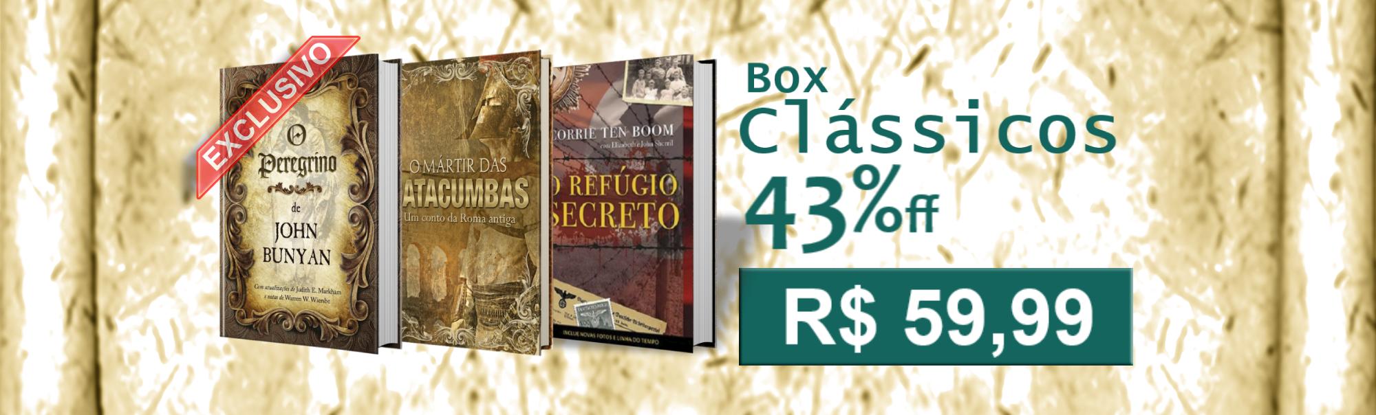 Box Clássicos Cristãos | Livraria Evangélica Emmerick