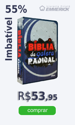 bíblia da galera radical - jovens e adolescentes | livraria evangélica emmerick