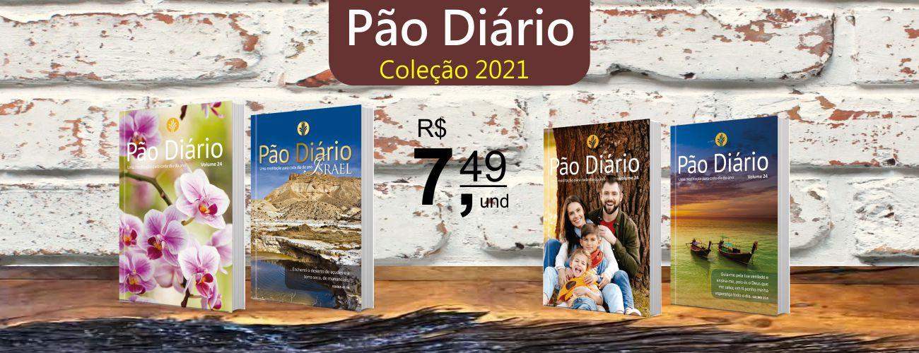 Promoção Pão Diário Vol. 24 - Ano 2021 | Livraria Evangélica Emmerick