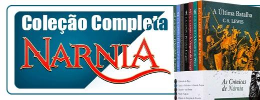 coleção completa nárnia | livraria evangélica emmerick