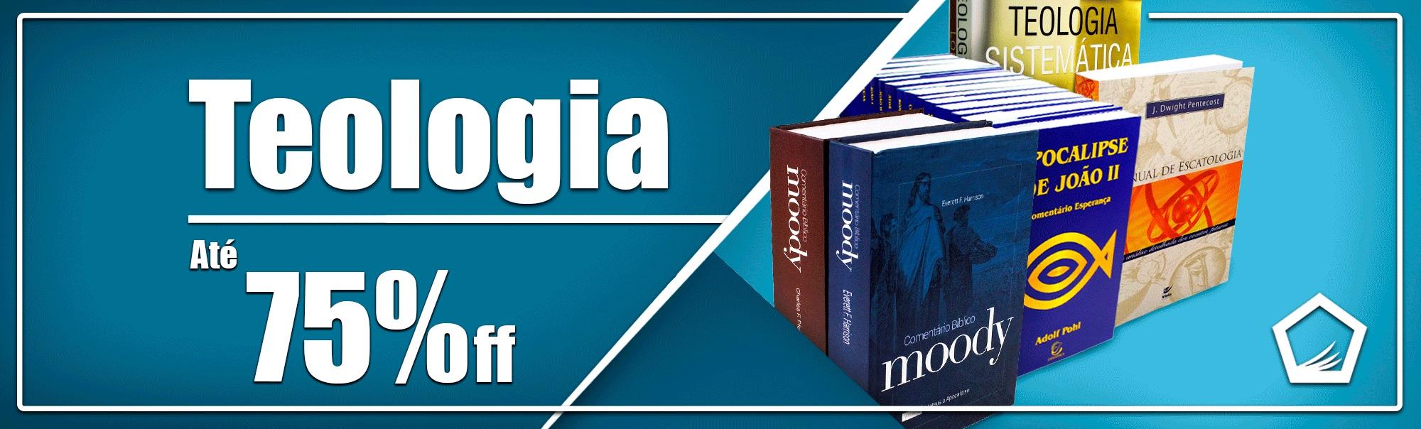 Livros de Teologia em Promoção | Livraria Cristã Emmerick