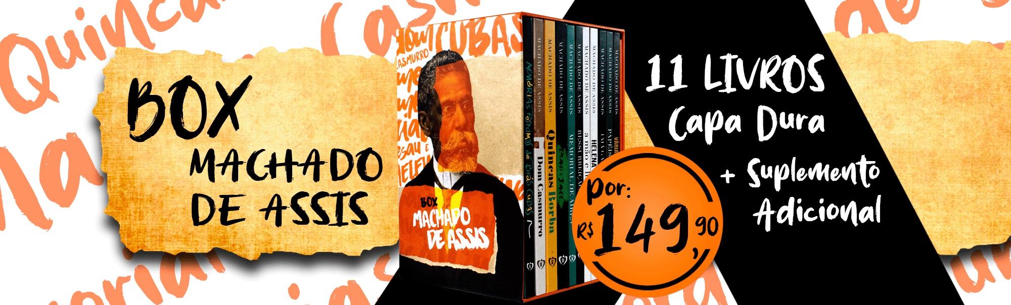 Coleção Machado de Assis 11 Livros Capa Dura | livraria cristã emmerick