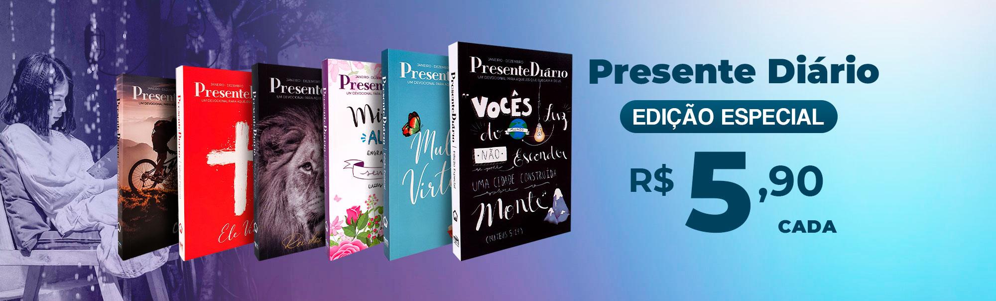 Devocional Presente Diário | livraria cristã emmerick