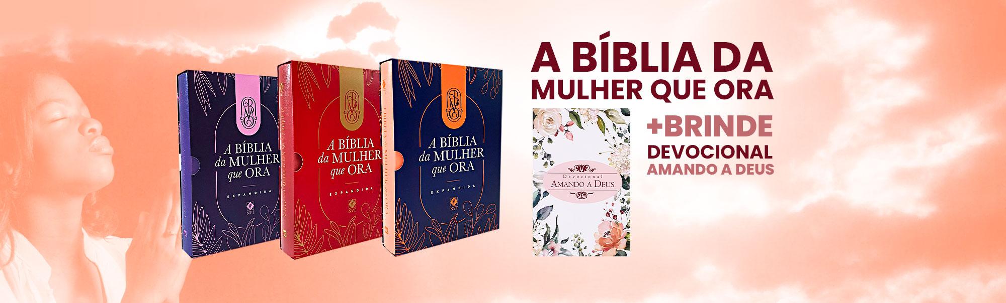 bíblia da mulher que ora | livraria evangélica emmerick