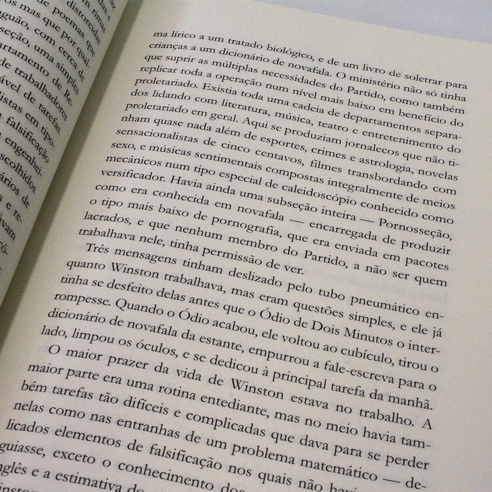 1984 | George Orwell | Capa Dura | Pé Da Letra