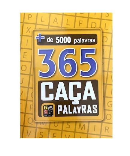 365 Caça Palavras Amarelo