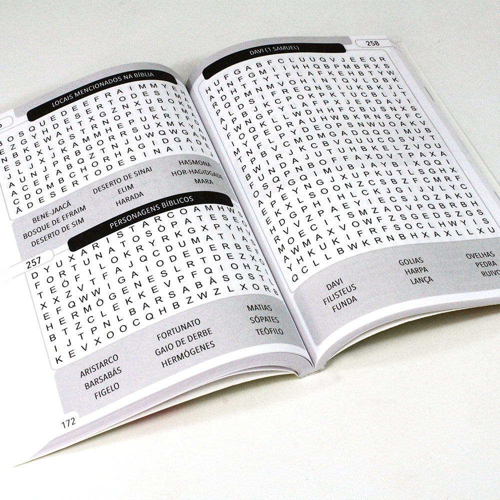 365 Caça-Palavras Bíblico | Ativamente