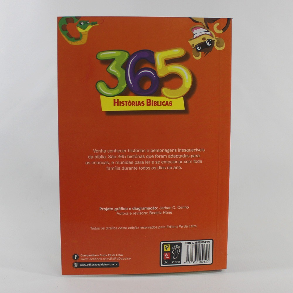 365 Histórias Bíblicas | Pé da Letra