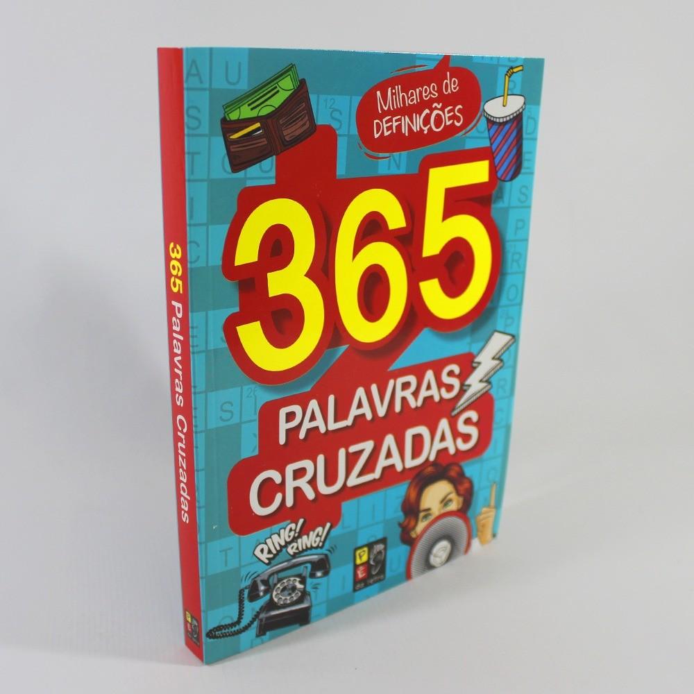365 Palavras Cruzadas - Azul Claro