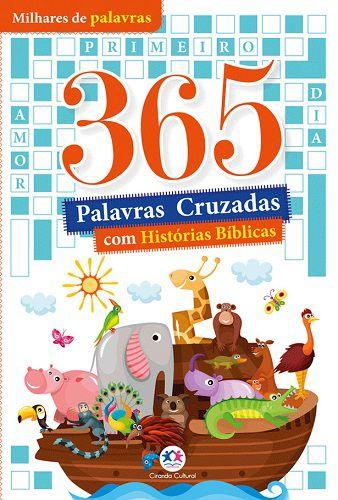 365 Palavras Cruzadas com Histórias Bíblicas