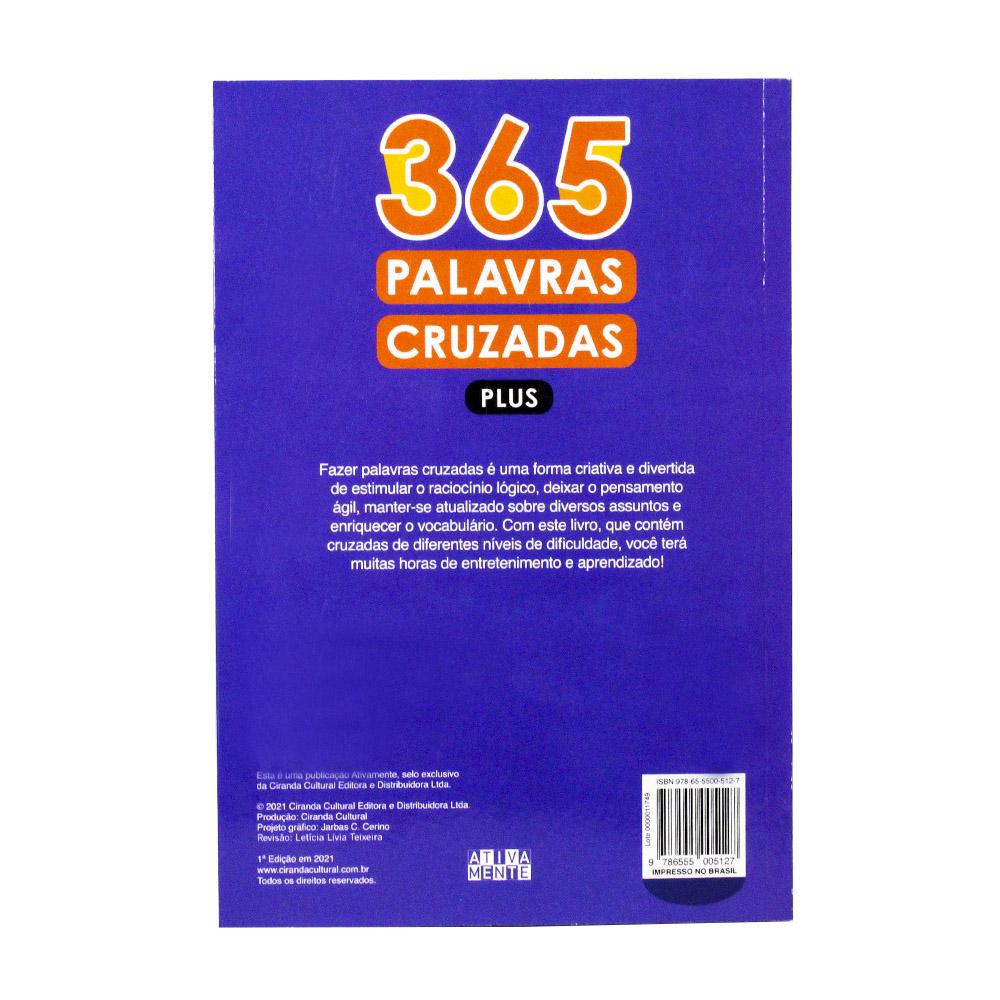 365 Palavras Cruzadas Plus   Volume I   Ativamente