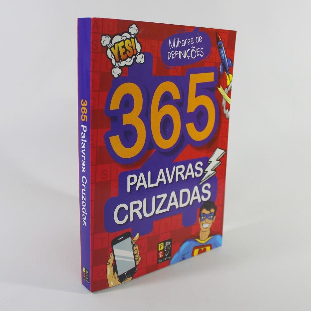 365 Palavras Cruzadas - Vermelha