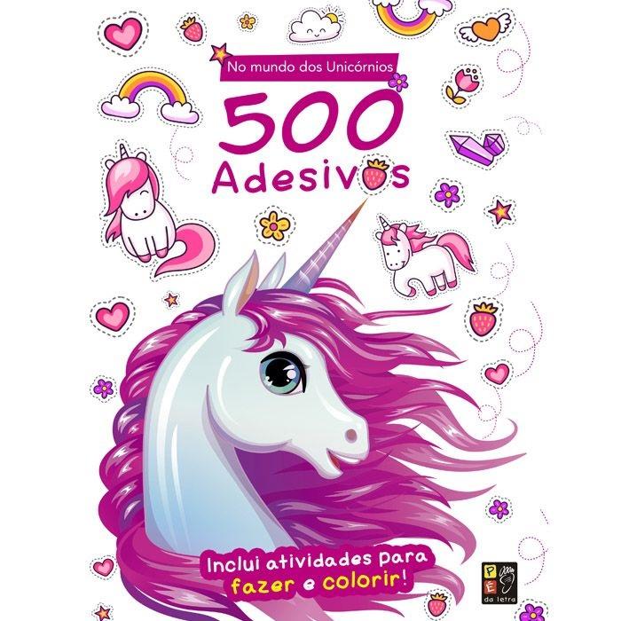 500 Adesivos No Mundo Dos Unicórnios