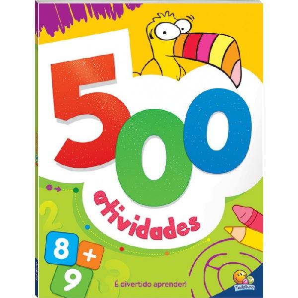 500 Atividades | (Laranja)