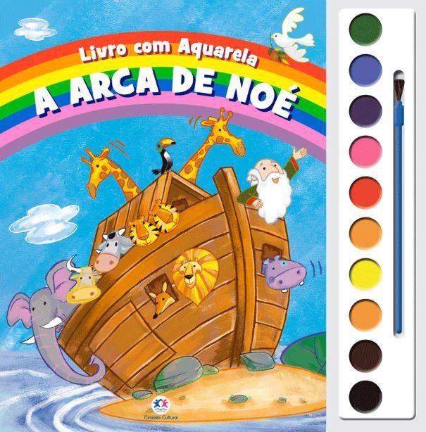 A Arca de Noé - livro com aquarela